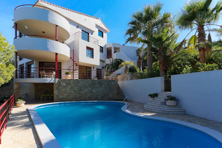 Luxury large villa with stunning views. - Cullera - Villa