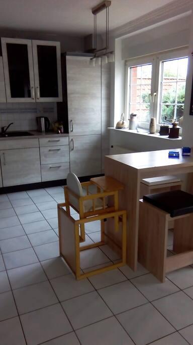 Wohn/Essbereich (offene Küche)