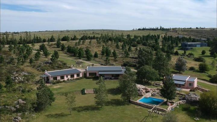 Casa en La Cumbre con vista a las Sierras