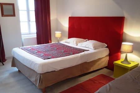 Chambre privée dans maison proche Tournus - Vers - Casa