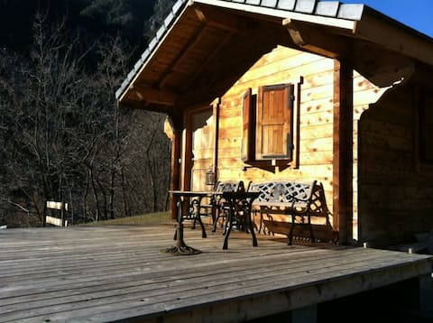 Chalet canadien Berthemont thermal