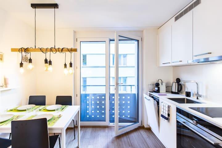 Modernes und zentrales Apartment (A05, 1st floor)