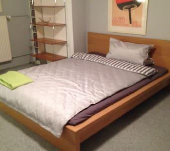 Komfortabel und hübsch eingerichtetes Zimmer - Liederbach am Taunus - 独立屋
