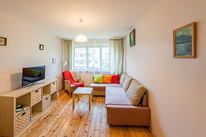 Charming & well connected apartment - Vilnius - Daire