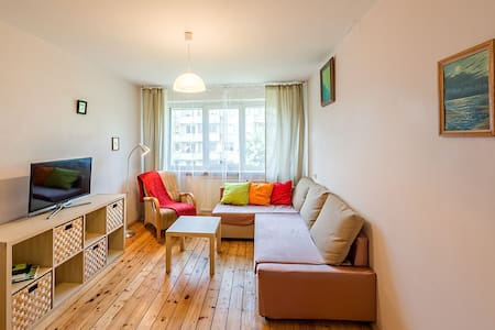 Charming & well connected apartment - Vilnius
