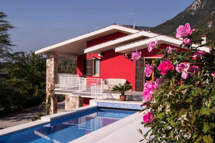 Villa San Michele with  private pool and park