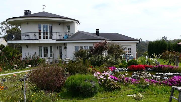 Villa Betania, mar, naturaleza y tranquilidad.