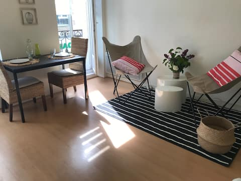 Bright studio in the heart of AURAY