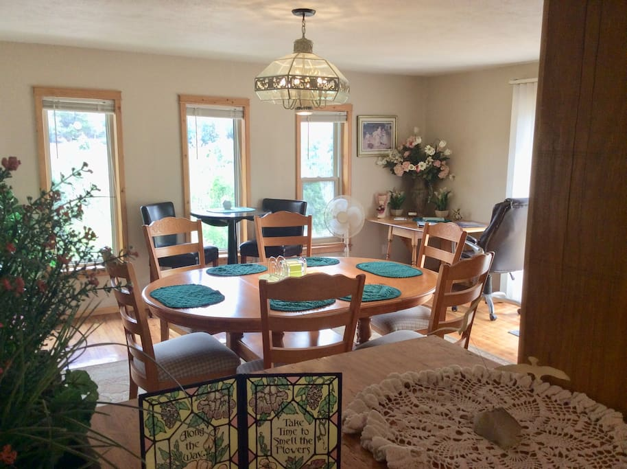 Dining Room with other tables and chairs.