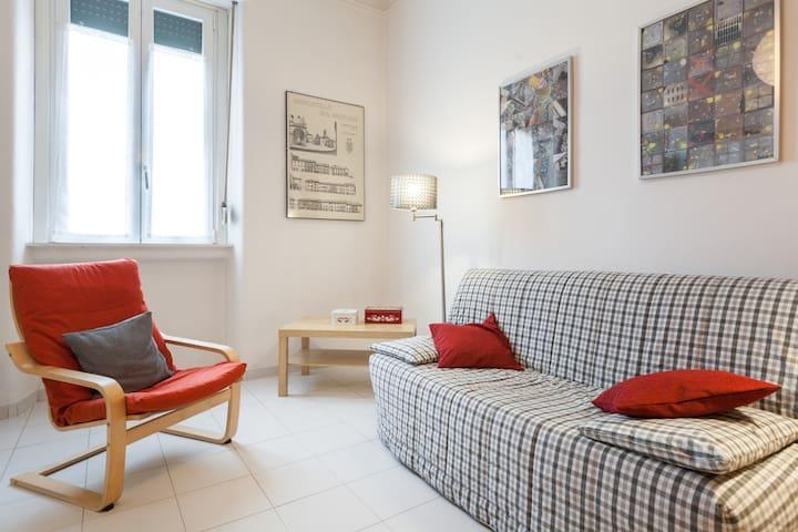 Cozy flat in via Negroli - Milaan - Appartement