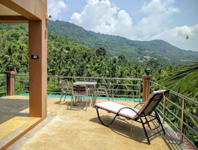 Apartment on Chaweng Mountain with a Nice View - Ko Samui