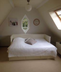 Ruime, lichte zolderkamer - Apeldoorn - Huis