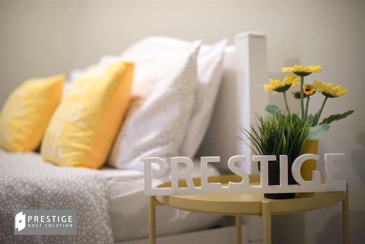 Prestige Pelangi 1 C2106 | 3 Bedrooms for 9 Pax