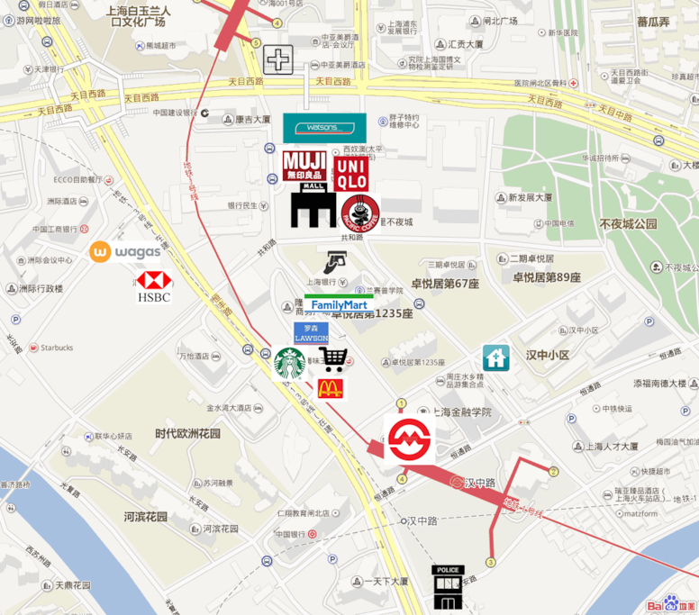 all kinds of facilities are within minutes walk