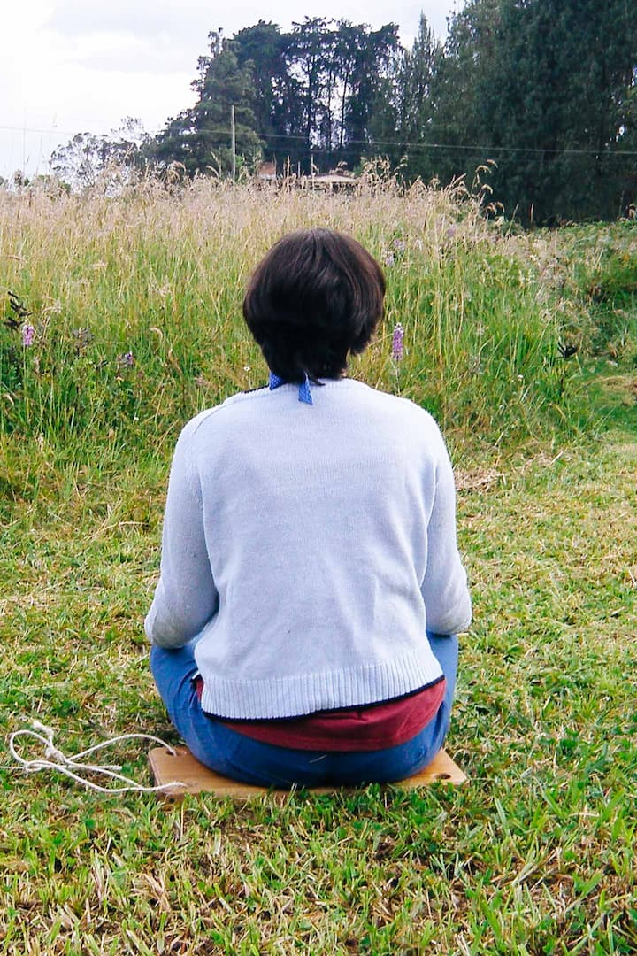La meditación en el campo