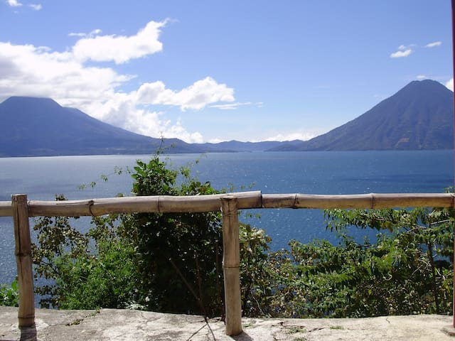 Casita Linda Vista - Great view over Lake Atitlan - Santa Cruz la Laguna - Wohnung