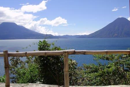 Casita Linda Vista - Great view over Lake Atitlan