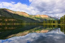 7 minutes down the road - magnificent Lake Haviland