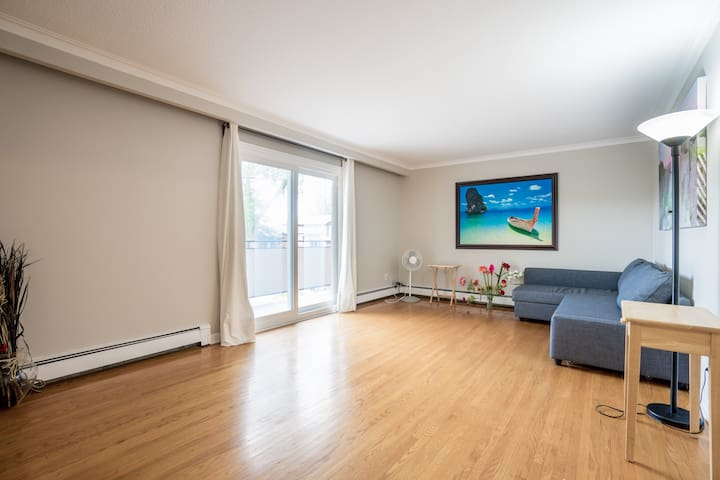 Bright 3-bedroom apartment on a quiet street