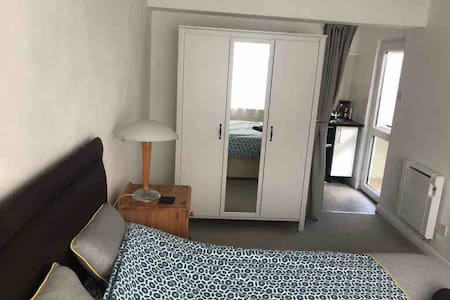 Self contained double bedsit with private entrance
