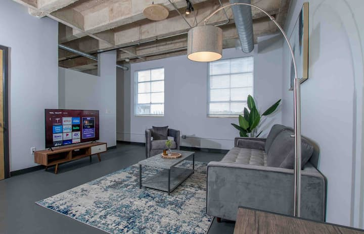 Executive Loft in JAX Downtown Gym Free parking!