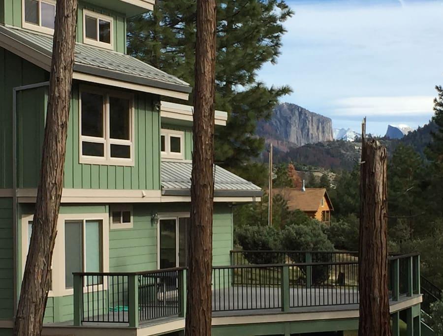 Johnson Family Yosemite Cabin Inside The Park Houses