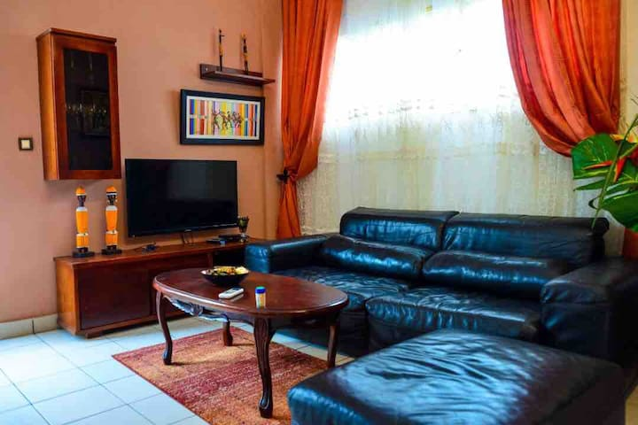 Furnished flat in Bonapriso Hydrocarbures- Douala