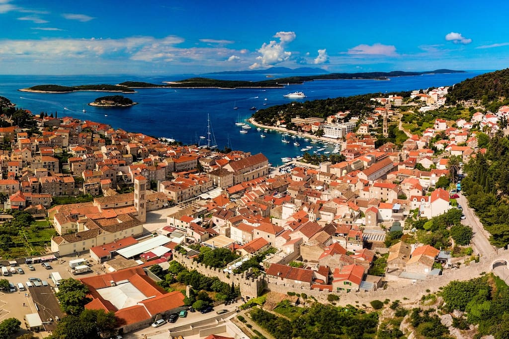 Hvar town