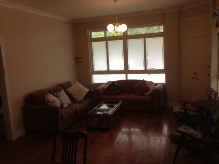 Living room incl - sofa bed if required