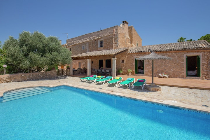 Charming Mansion in Felanitx with Private Swimming Pool