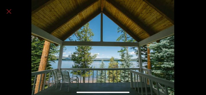 Camp  Carefree on Placid Lake, Montana $490-$790