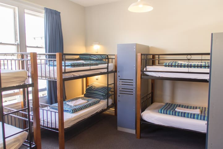 YHA Christchurch multishare room