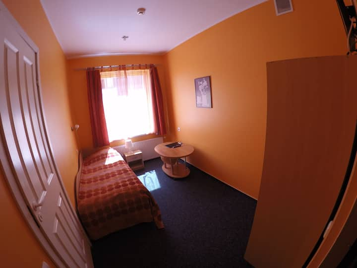 Single room in hotel