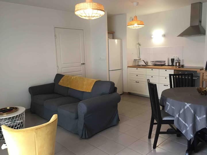 Appartement Tours 4 personnes (possible 5)