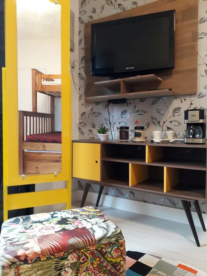 Quarto confortável na Enseada - Room One Colômbia