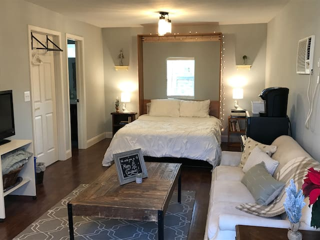 Oaklandia Studio Apt - Walk to TWU or Downtown!