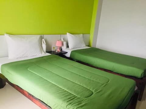 Cozy Superior Twin Room @ SP Residence Surat Thani