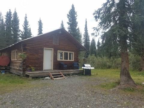 Wrangell Mountains Wilderness Log Cabin