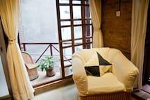 Little private balcony
