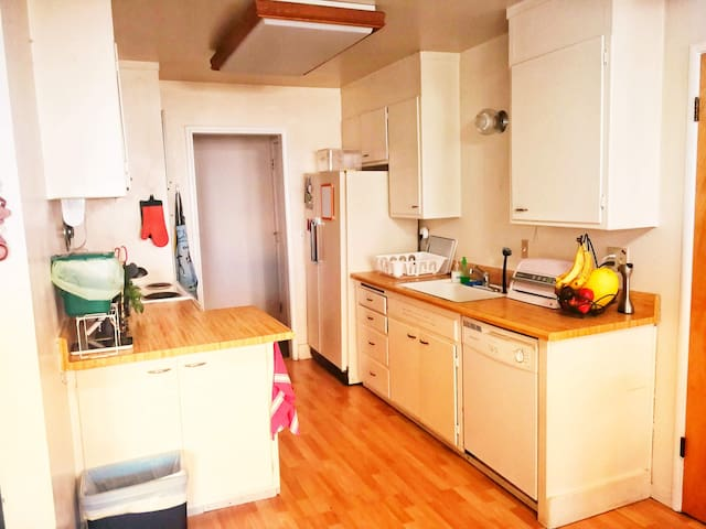 The guests have full kitchen access.