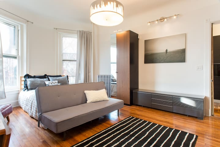 Sunny studio in a great area - Brookline  - Διαμέρισμα