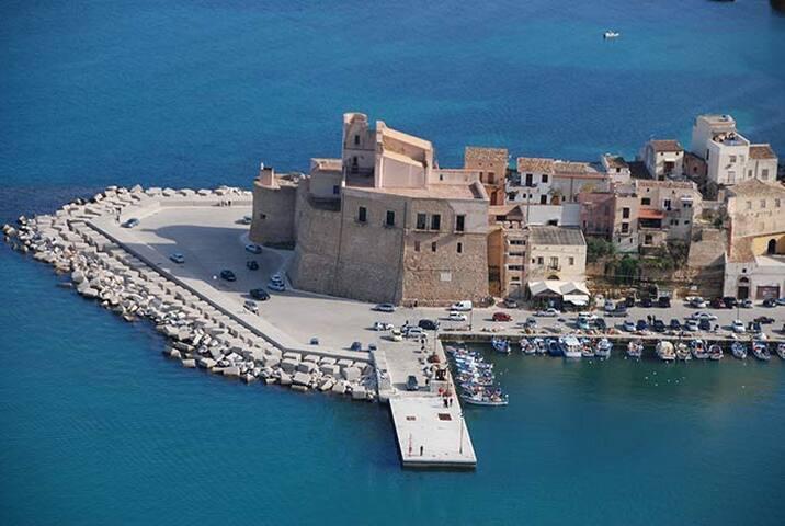 Villa Zank a Castellammare del Golfo
