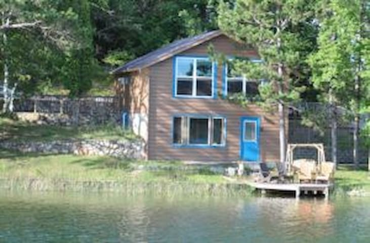3BR, 2 story Cabin on clean, clear Lake Ida (#6)