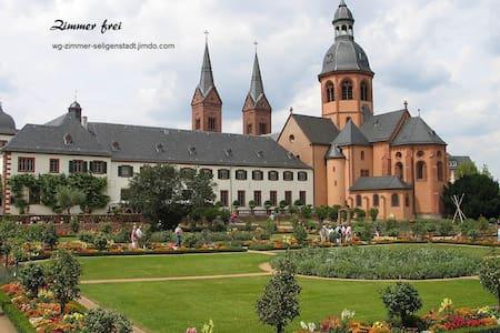 21 qm, ruhig, gemütlich, Bad, Küche - Seligenstadt - Haus