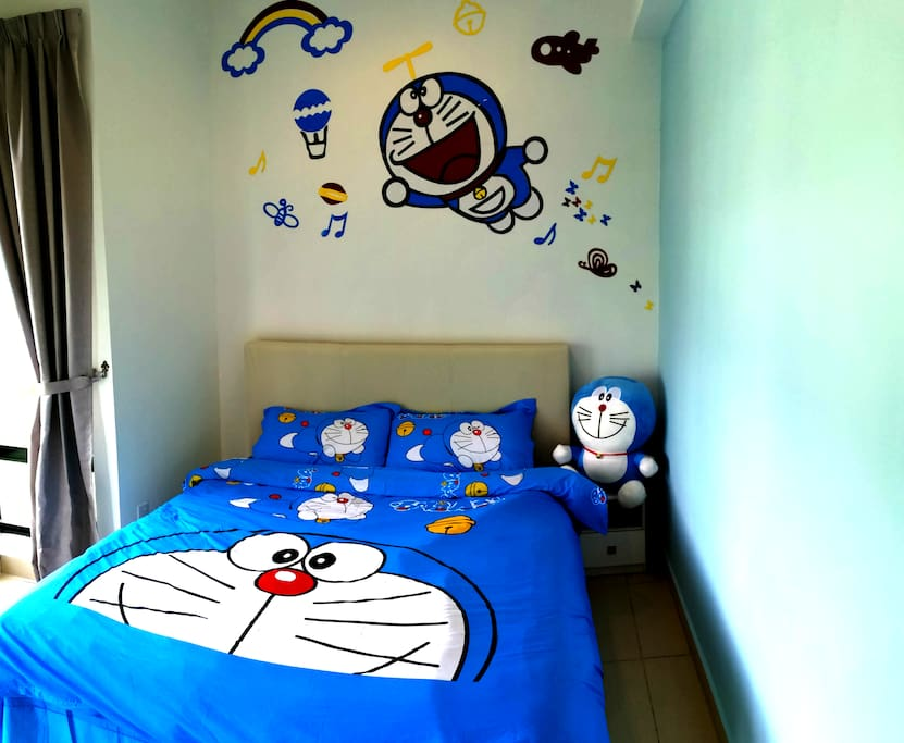 Doraemon Themes for second bedroom