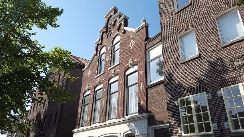 Historische woning aan de mooiste gracht van S'DAM - Schiedam - Townhouse