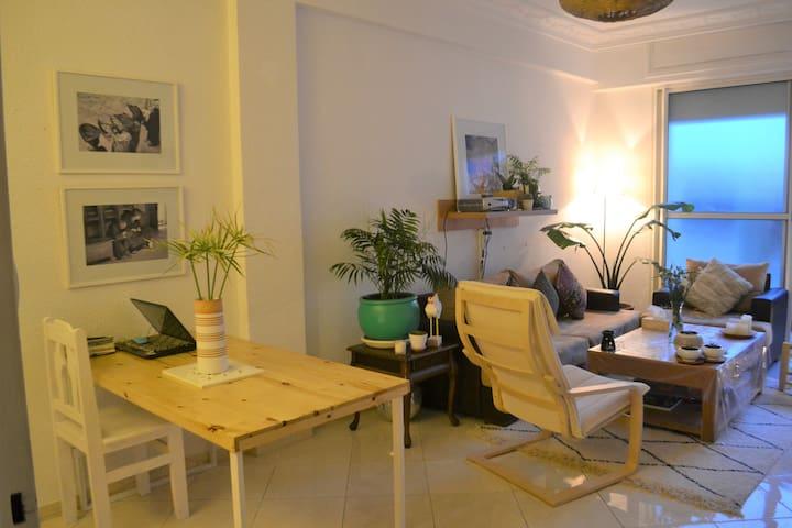 Spacious and green apartment in Hassan - Rabat - Apartamento