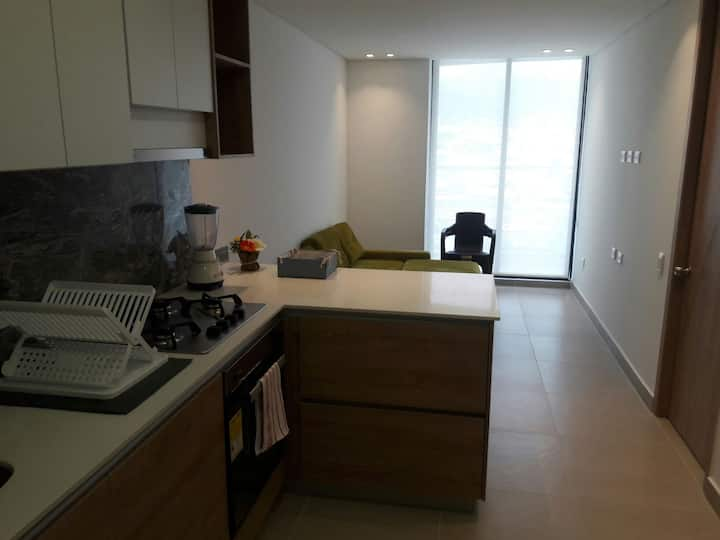 Apartamento comodo con excelente ubicacion.