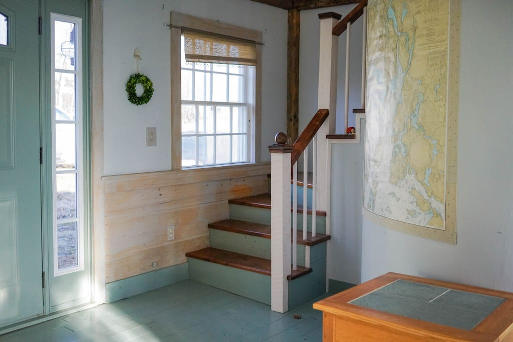 Stairs, Map of Penobscot Bay
