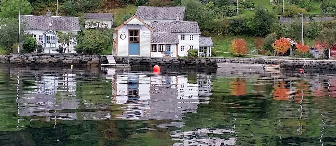 The Hardanger fjord is your only neighbor in front